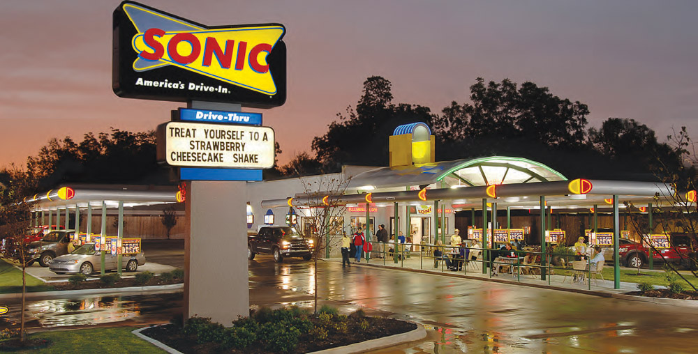 Larry Miller Toyota Colorado Springs >> Sonic Drive-In - Powers Auto Park