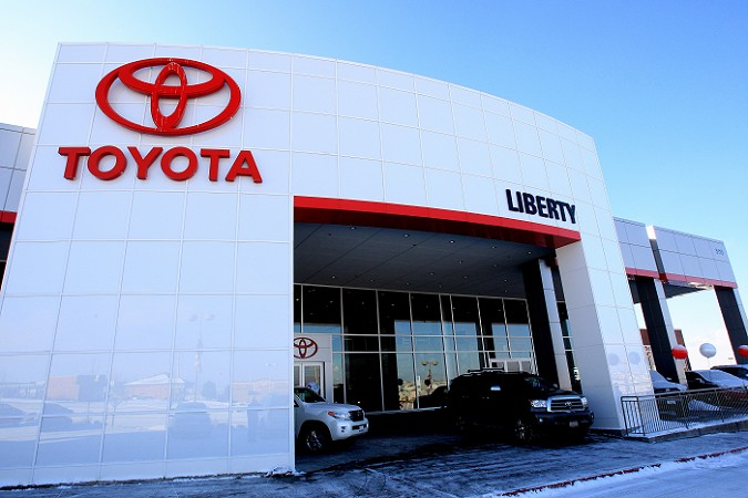 Larry H Miller Liberty Toyota Powers Auto Park